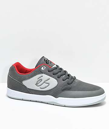 eS Swift 1.5 Grey & White Skate Shoes