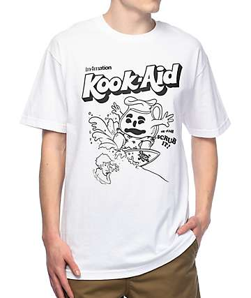 in4mation Kook Aid White T-Shirt
