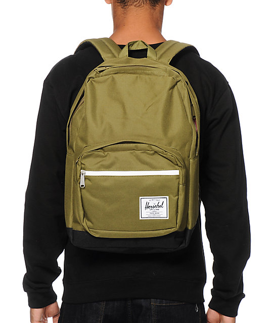 Herschel Supply Co. Pop Quiz Army Green 20L Backpack