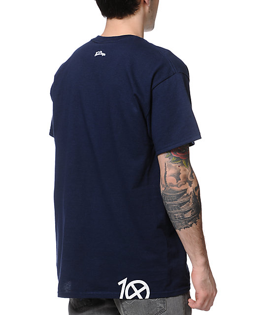 10 Deep Murko Strikes Navy T-Shirt