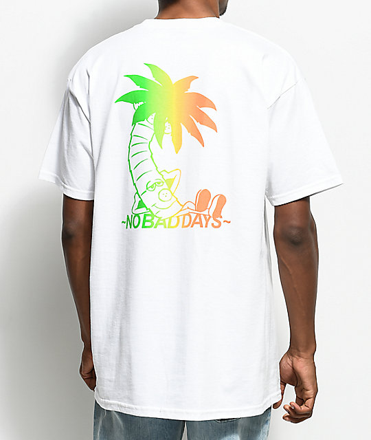 10 Deep No Bad Days White T-Shirt