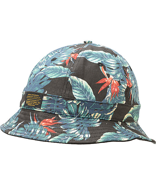 10 Deep Parrish Smith Black Bucket Hat