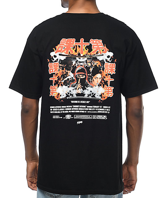 10 Deep Shogun's Revenge Black T-Shirt