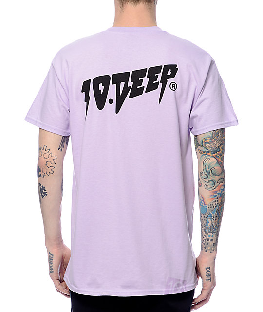 10 Deep Sound & Fury Lavender T-Shirt