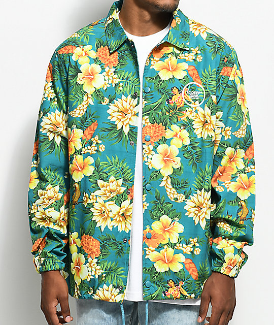 10 Deep Tito's Teal Coaches Jacket