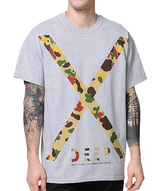10 Deep X-Deep Grey T-Shirt