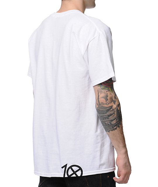 10 Deep X-Deep White T-Shirt