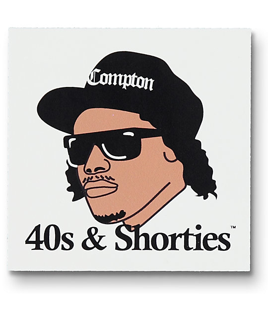 40's & Shorties Eazy Does It Sticker