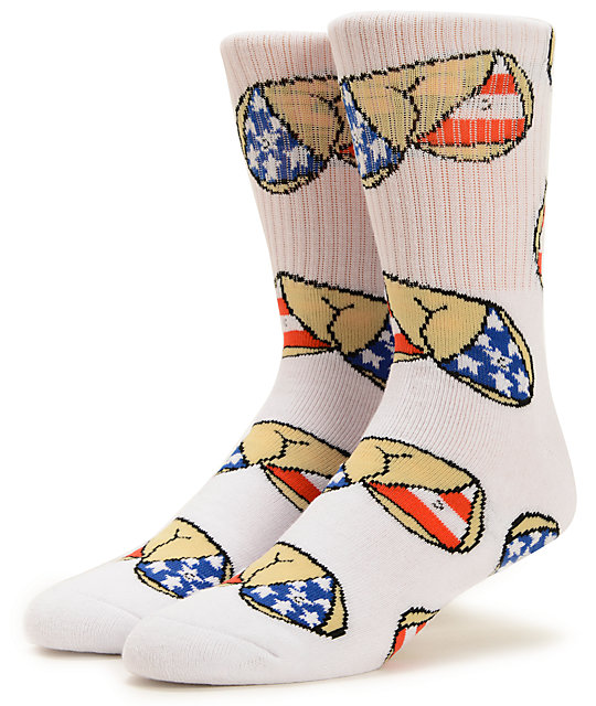 40s & Shorties Murica Crew Socks