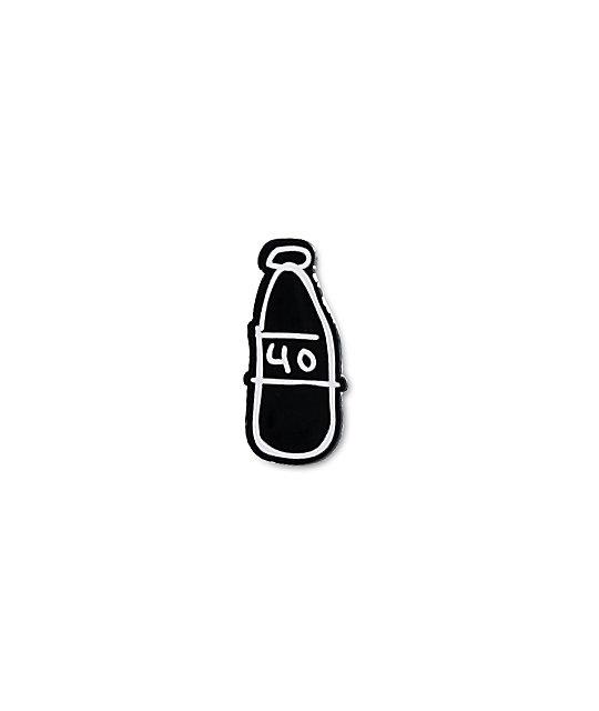 40s & Shorties Scribble Bottle Pin