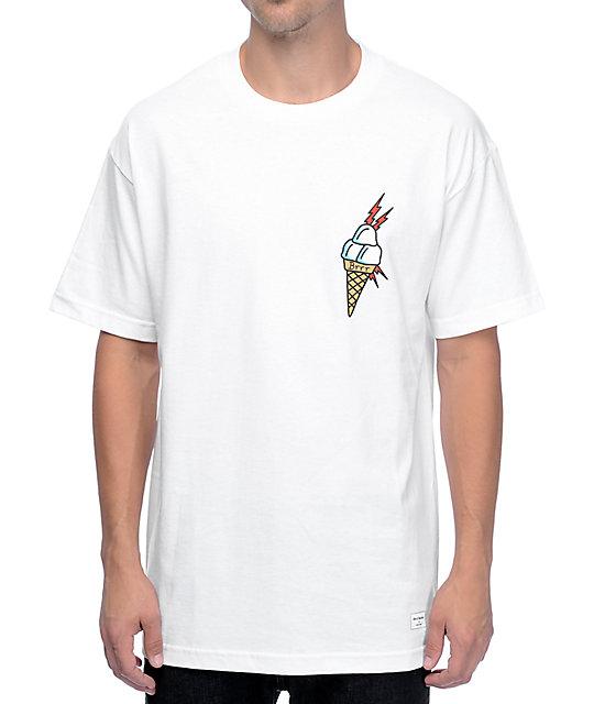 & Shorties Ice Cream White T-Shirt