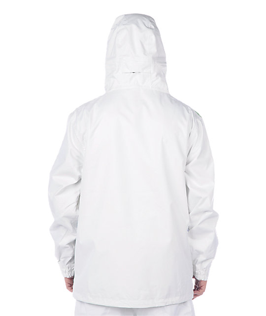 686 Antic White Snowboard Jacket