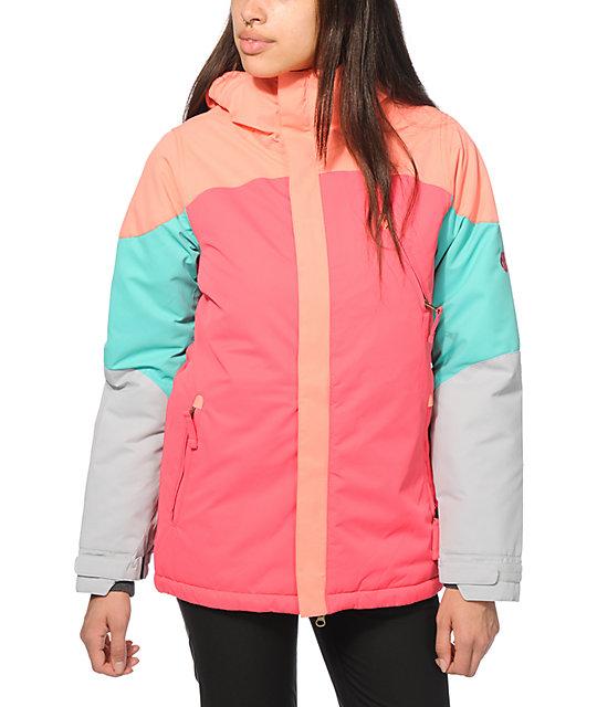 686 Authentic Festival Block 10K Snowboard Jacket