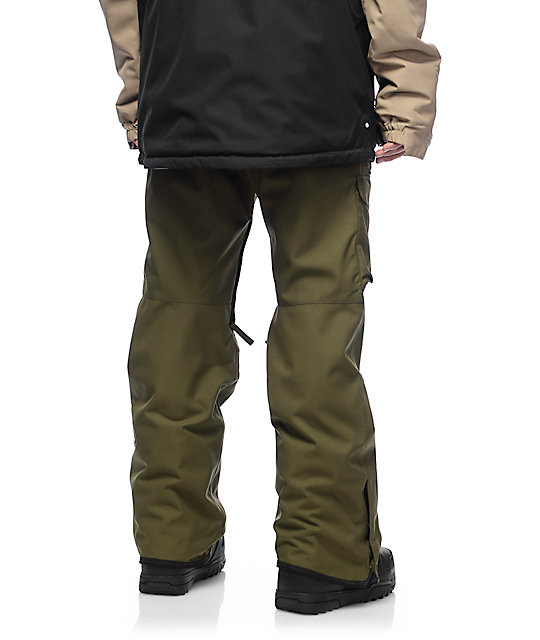686 Authentic Rover Olive Snowboard Pants