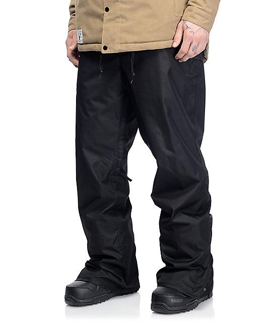 686 Authentic Standard 5K Black Snowboard Pants