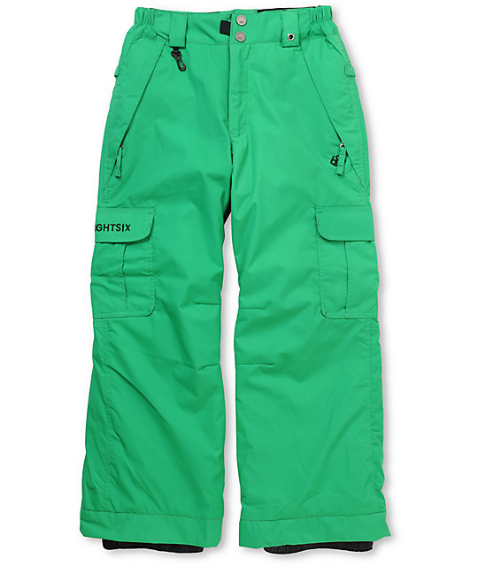 686 Boys Ridge Green 5K Snowboard Pants