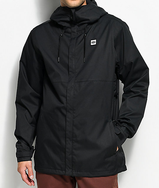 686 Foundation Black 5K Snowboard Jacket