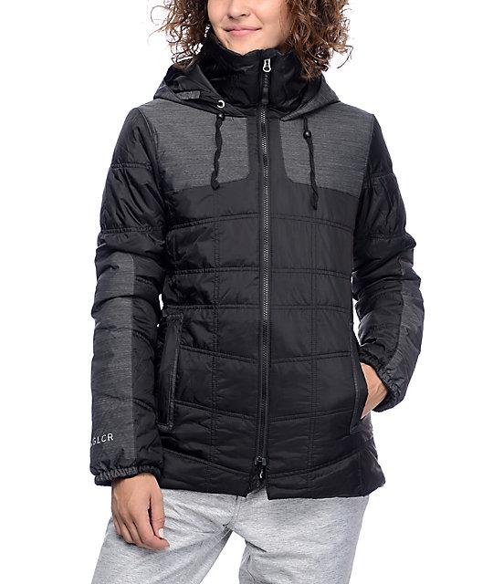 686 GLCR Uptown Black Insulated Snowboard Jacket