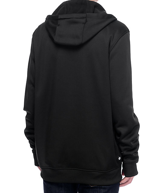 686 Icon Black Tech Fleece Jacket | Zumiez