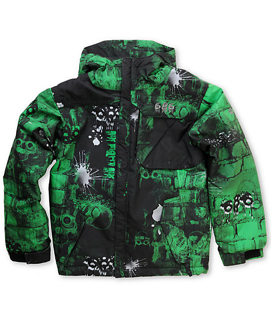 686 Mannual Bricks Boys 5K Snowboard Jacket