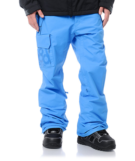 686 Mannual Data Blue 8K Snowboard Pants