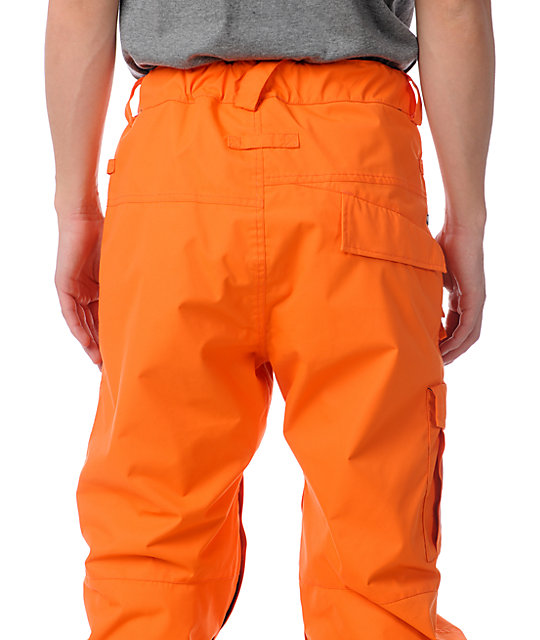 686 Mannual Data Orange 8K Snowboard Pants