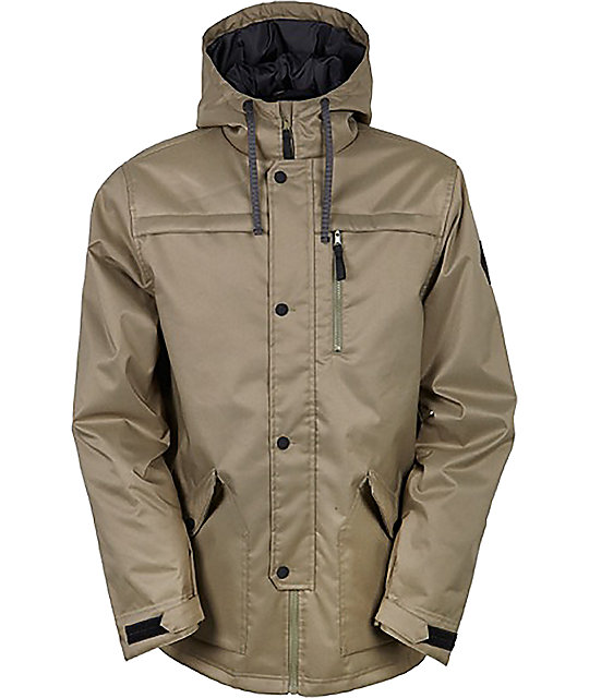 686 Parklan Flight Tobacco Insulated Snowboard Jacket