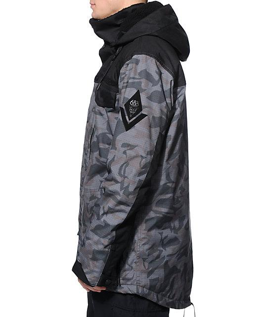 686xMike Shinoda Hyena Camo 15k Snowboard Jacket