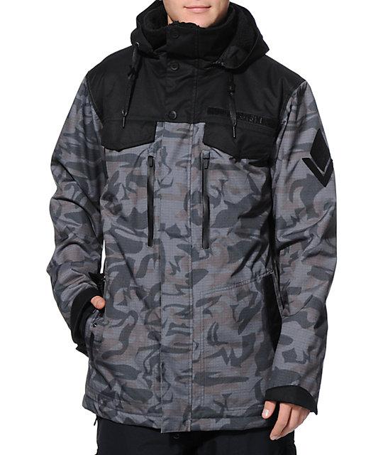 686 x Mike Shinoda Hyena Camo 15k Snowboard Jacket