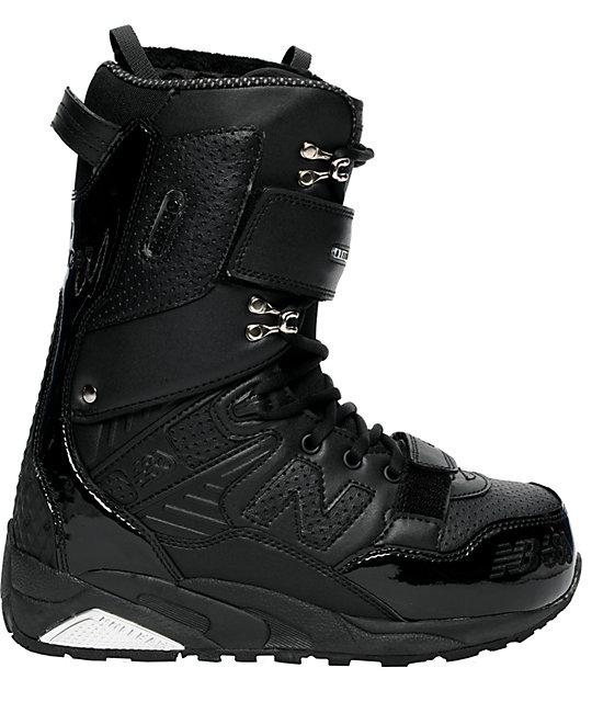 686 x New Balance 580 Black Snowboard Boots