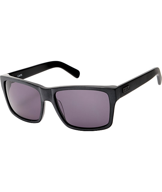 9Five Caps Blackout All Black Sunglasses