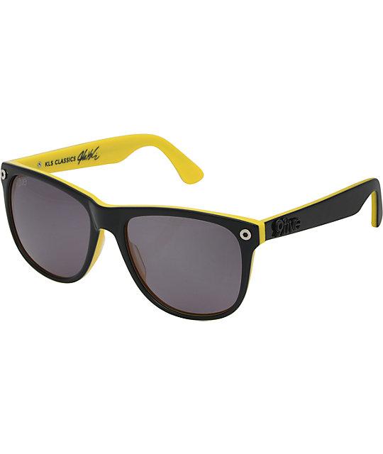 9Five KLS Pro Black & Yellow Sunglasses