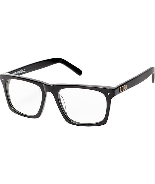 9Five Watson Black & Clear Glasses