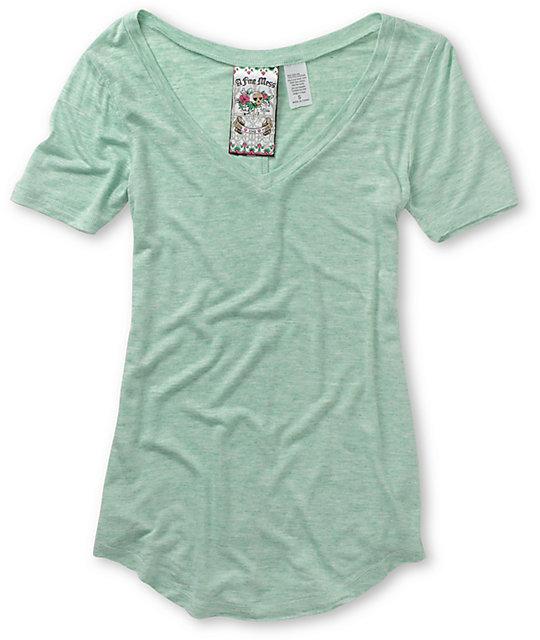 A Fine Mess Tri-Blend Green T-Shirt