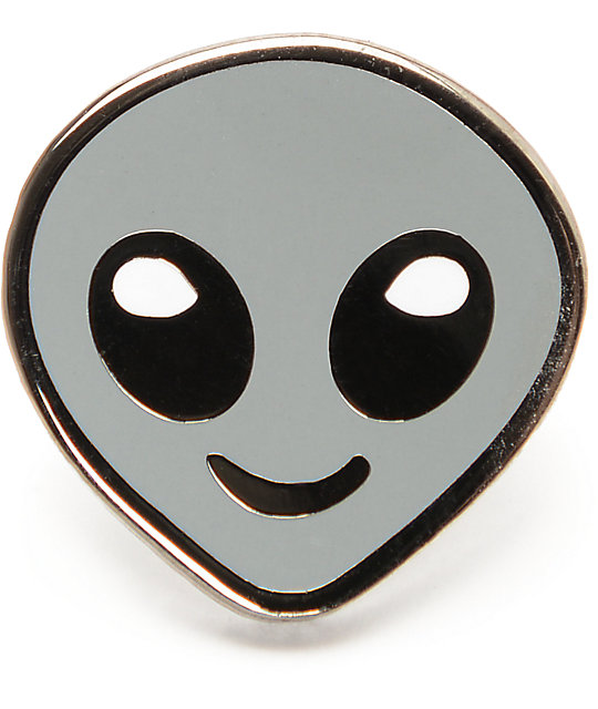 A-Lab Alien Emoji Pin