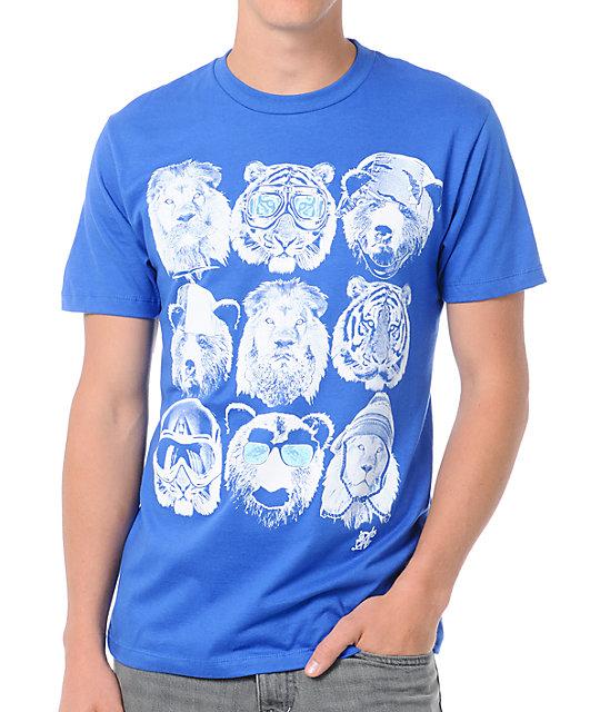 A-Lab Animal Attire Blue T-Shirt