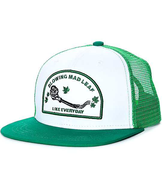 A-Lab Blowing Mad Leaf Trucker Hat