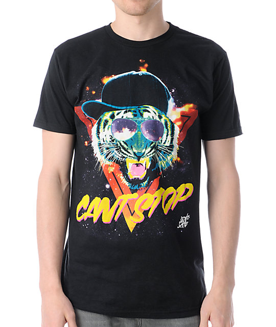 A-Lab Cant Stop Short Sleeve Black T-Shirt