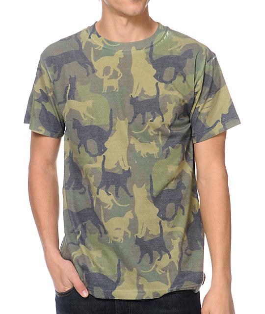 A-Lab Catmo Camo T-Shirt