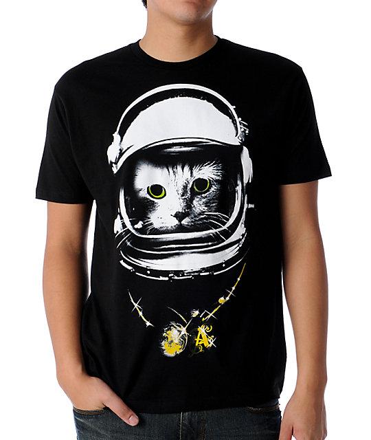 A-Lab Catnik Black T-Shirt