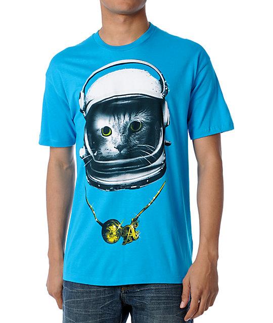 A-Lab Catnik Turquoise T-Shirt