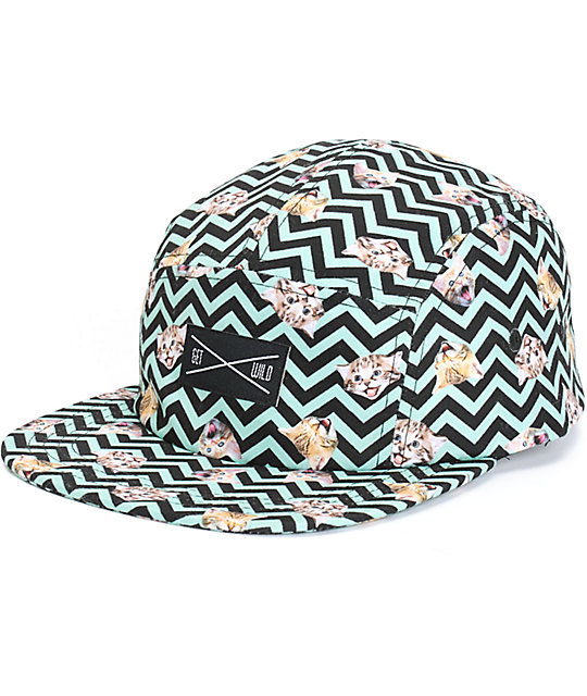 A-Lab Chevron Kitty 5 Panel Hat