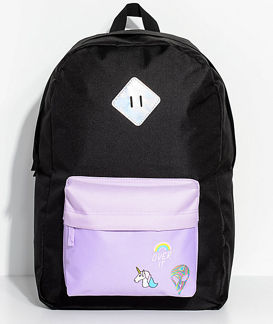 A-Lab Chrissy Over It Black Backpack