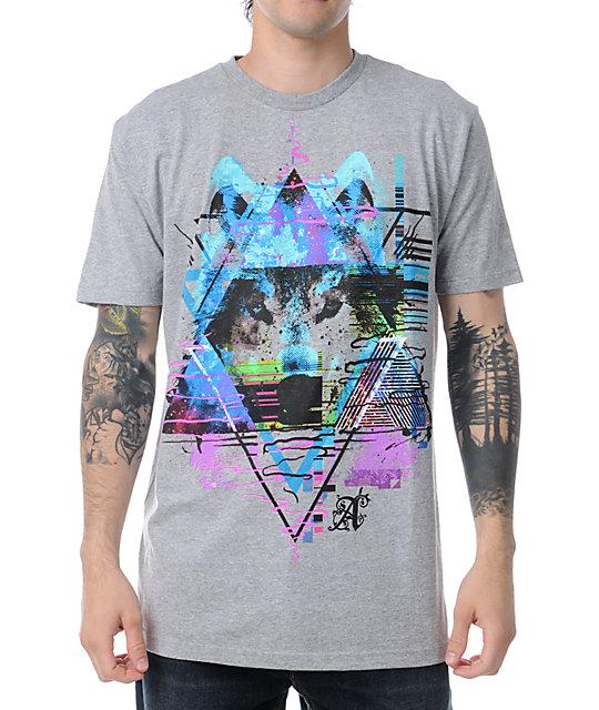 A-Lab Cyberwolf Grey T-Shirt