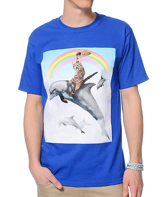 A-Lab Dolphin Rodeo T-Shirt