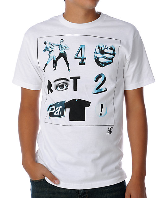 A-Lab Fight 2 Party White T-Shirt