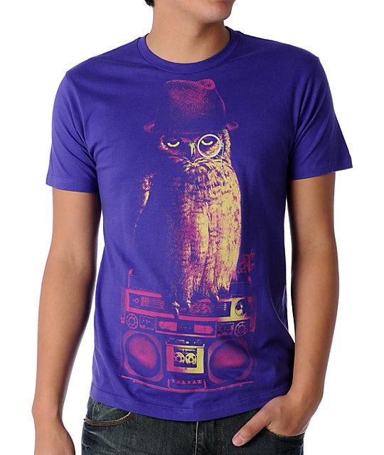 A-Lab Fowl Play Purple T-Shirt