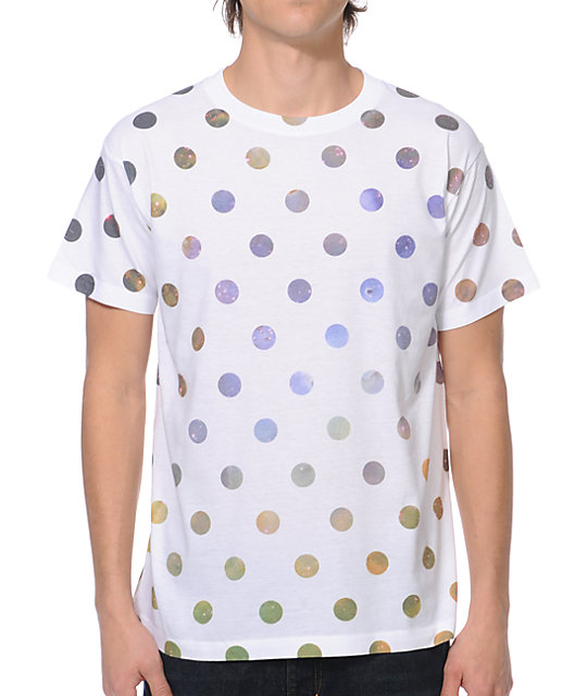 A-Lab Galactic Dots White T-Shirt