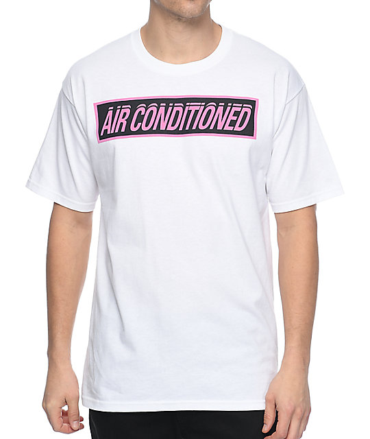 A-Lab Keepin Cool White T-Shirt | Zumiez