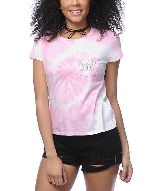 Lab Kito Space Babe Pink Tie Dye T-Shirt